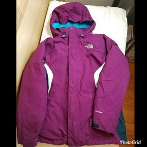 The North Face hyvent jacket girls Lg 14/16